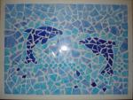 dolphin mosaic