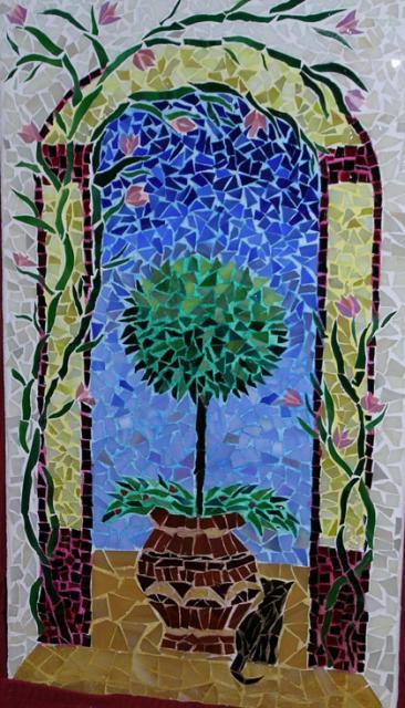 mosaic-cat-and-tree-cristina-cassina