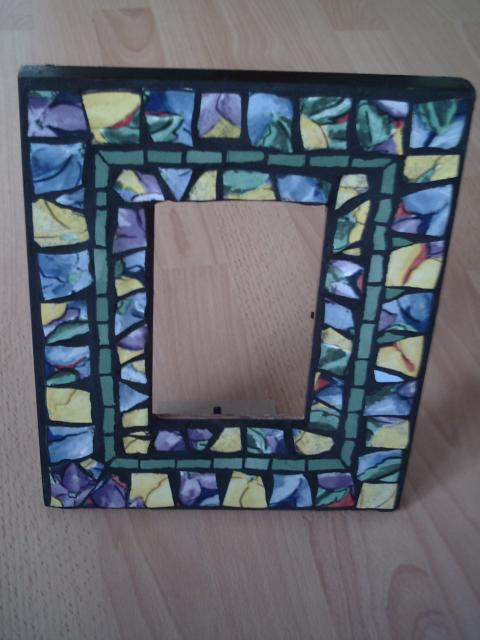 Florall Picture Frame 003