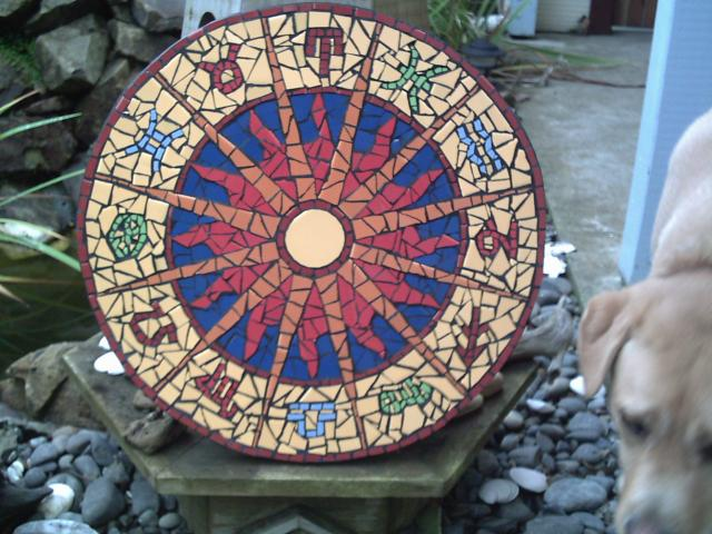 Sunsign Mosaic for Mum