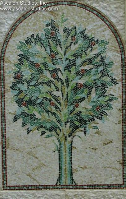 Ascalon Studios - Tree of Life glass mosaic